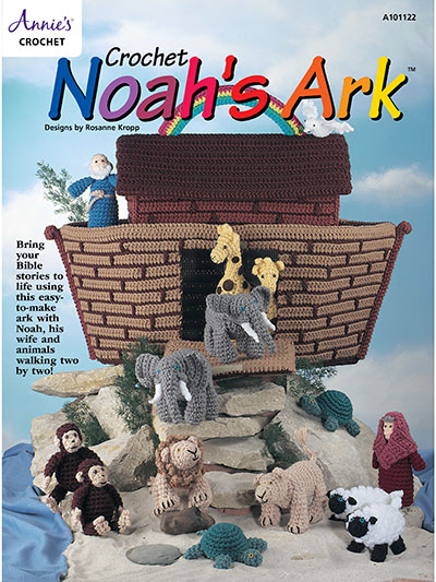 Noah's Ark crochet playset pattern