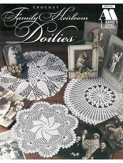 Crochet Patterns Family Heirloom Doilies