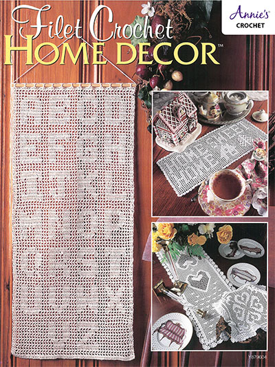 Filet Crochet Home Decor