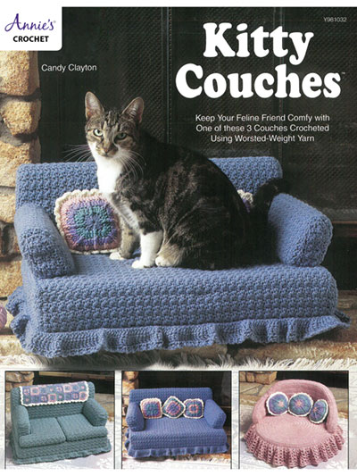 Kitty couches to crochet
