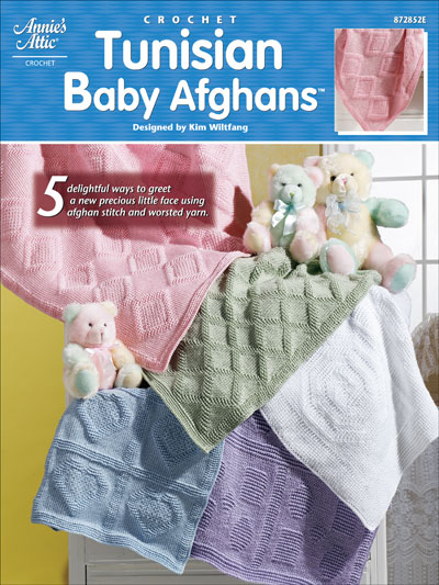 Assorted Afghan Books - Tunisian Baby Afghans - Crochet Baby Blanket ...