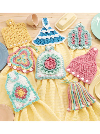 Towel Topper Express Crochet patterns