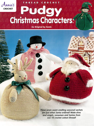 Crochet Patterns Pudgy Christmas Characters