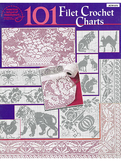 Filet Crochet Filet Patterns Page 1