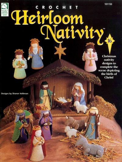 Nativity Set Crochet Pattern Donkey Cow Sheep All The Gang Even a ... | 533x400
