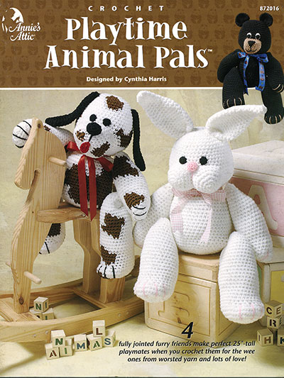 Playtime Animal Pals Crochet Pattern