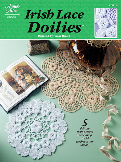 Crochet Doily Patterns Irish Lace Doilies Crochet Doily Patterns
