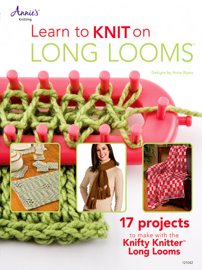 Loom Knitting Books Learn To Knit On Long Looms