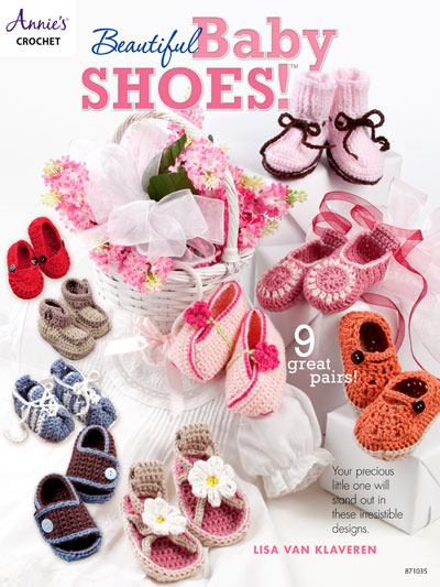 Beautiful Baby Shoes Crochet patterns