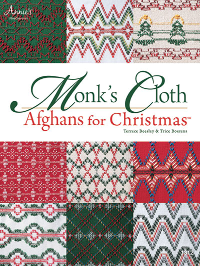 Monk's Cloth Afghans for Christmas