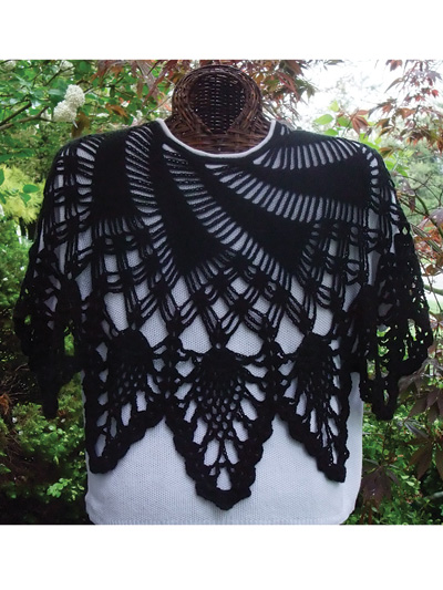 Crochet Shawl Wrap Patterns Summer Swirl