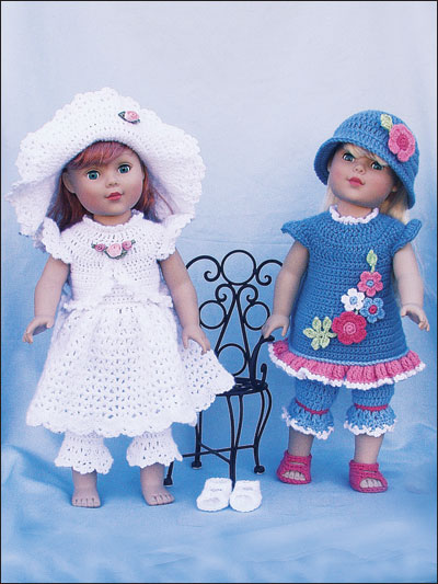 image relating to Free Printable Crochet Doll Clothes Patterns for 18 Inch Dolls called Paid out and Totally free Crochet Types for 18-inch Dolls Including the