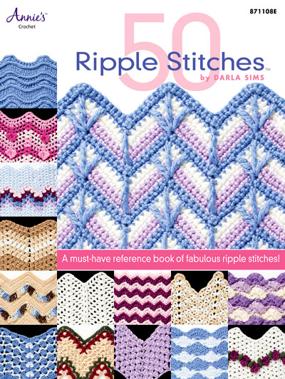 Learn To Crochet Patterns 50 Ripple Stitches