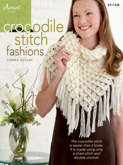 Crochet Crocodile Stitch Fashions