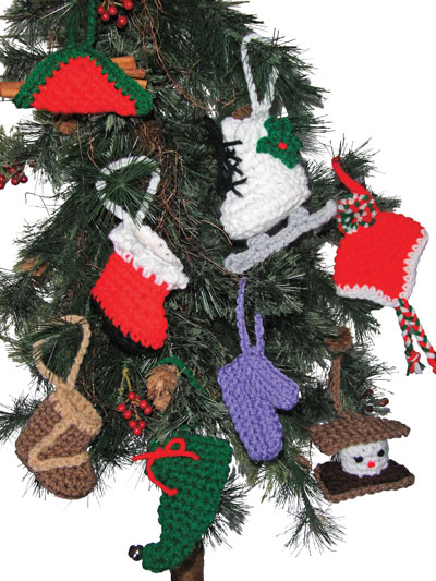 Download Patterns Holiday Downloads Christmas Ornaments Crochet