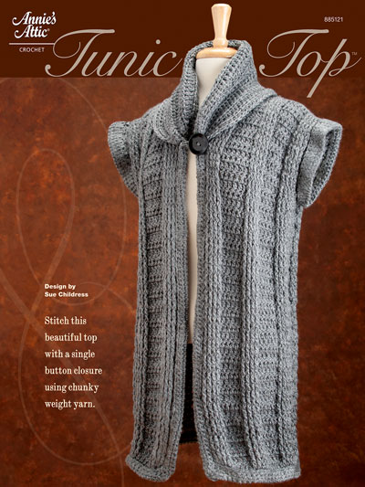 Tunic Top Crochet Pattern A885121