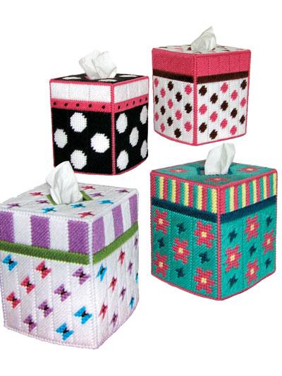 plastic canvas tissue box pattern 1