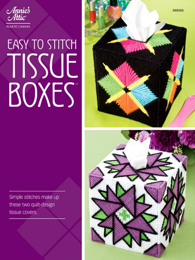 Easy Plastic Canvas Patterns Easy To Stitch Tissue Boxes Pattern Mesmerizing Easy Plastic Canvas Patterns