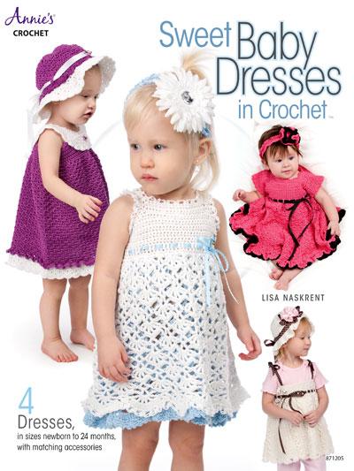 7d46da46f New Crochet Patterns - Sweet Baby Dresses in Crochet