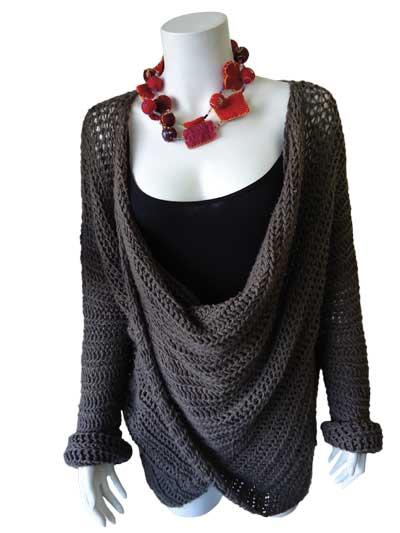 Crochet Patterns Simply Elegant Sweater