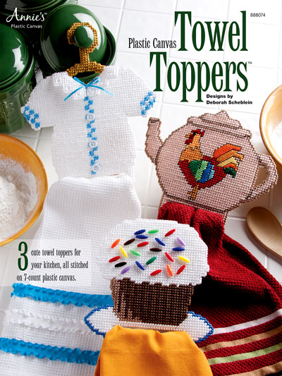 Plastic Canvas Towel Toppers
