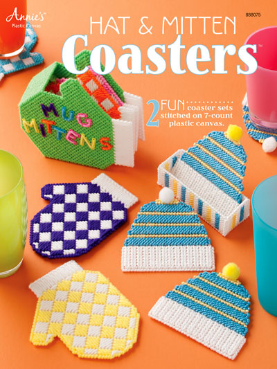 Easy Plastic Canvas Patterns Hat Mitten Coasters Custom Easy Plastic Canvas Patterns