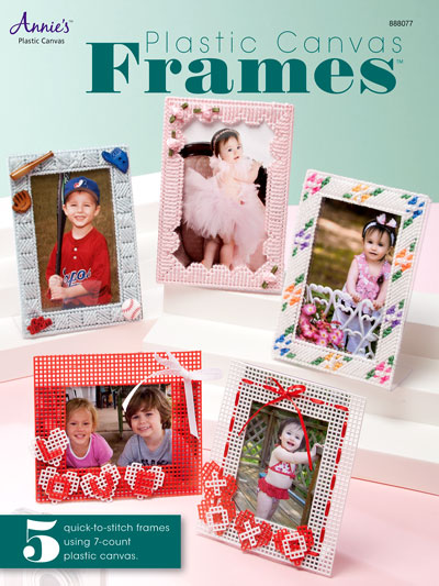 Easy Plastic Canvas Patterns - Plastic Canvas Frames