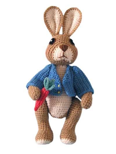 Ravelry: Craftycharlieanne's Peter Rabbit   Crochet rabbit, Easter ...   533x400