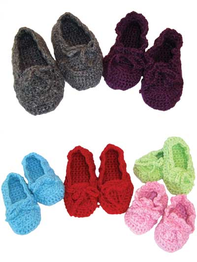 Crochet Slipper Patterns Page 1
