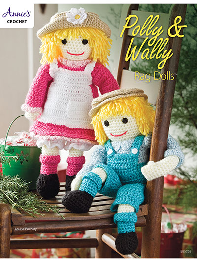 Crochet Patterns Polly Wally Rag Dolls