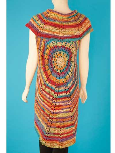 Bohemian Circle Shawl Crochet Pattern