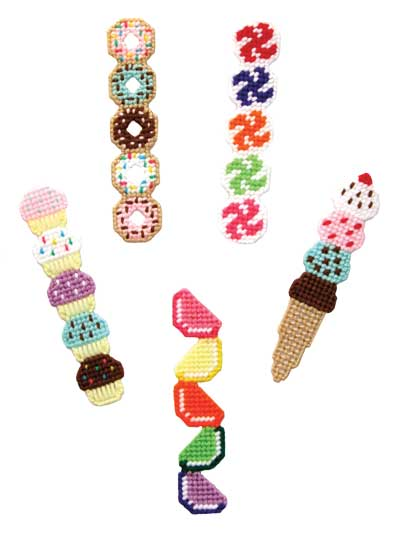 Easy Plastic Canvas Patterns Sweet Treat Bookmarks Pattern Pack Best Easy Plastic Canvas Patterns