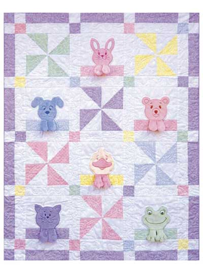 Applique Baby & Kids Quilt Patterns - Page 1