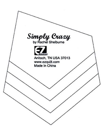 quilting rulers cutting mats page 1 4 X 4 Medical simply crazy quilt template