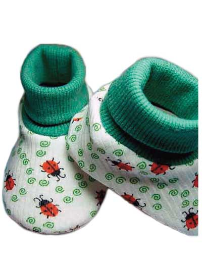 Baby & Kids Sewing Downloads - Baby Bootie #5 Pattern
