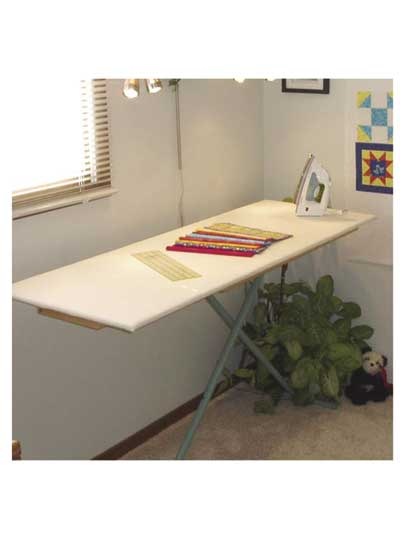 Quilters Ironing Board Top and Cover Sewing Pattern