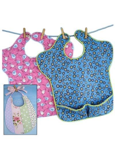Baby Bib Sewing Patterns - Sara Bib & Pieced Bib Patterns