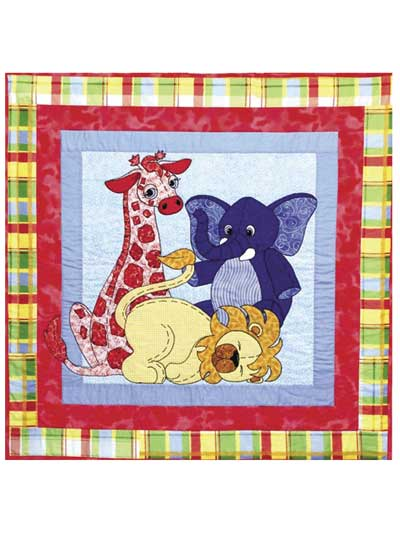 Applique Baby & Kids Quilt Patterns - Page 1 : jungle theme baby quilt patterns - Adamdwight.com