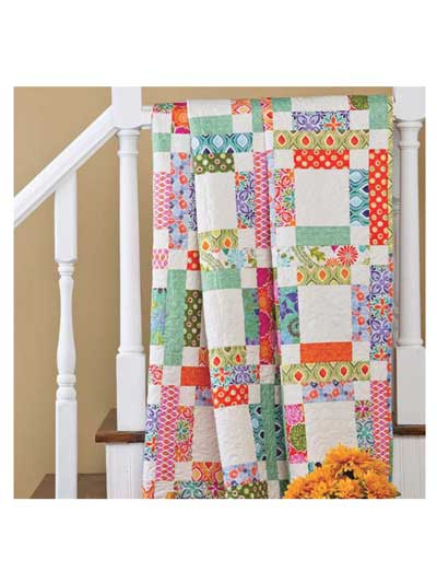 Grandma Mary S Five Patch Quilt Pattern