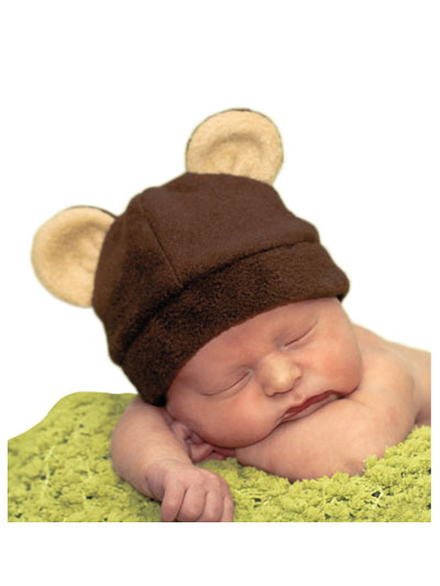 4309d6c3ba6 Baby Hat Sewing Pattern - Fleece Animal Hats Vol 1