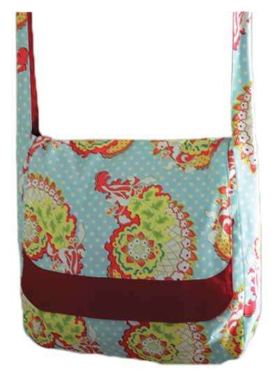 Handbags, Tech Cover & Wallet Sewing Pattern - Messenger Bag
