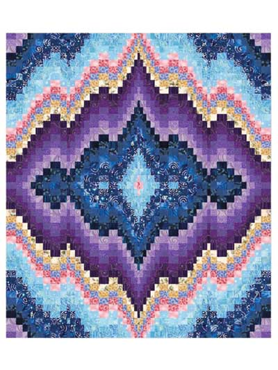 A Sweet Dreams  Bargello Quilt Pattern