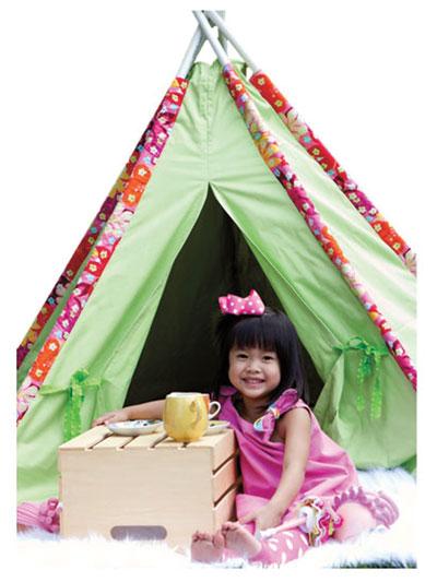 Tee Pee Tent Sewing Pattern