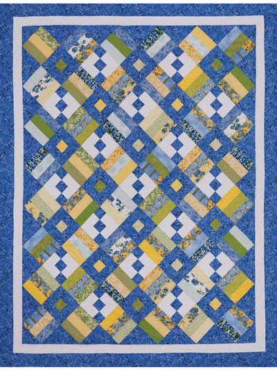 Bed quilt patterns using pre cut fabric page 1 chain letter quilt pattern spiritdancerdesigns Gallery