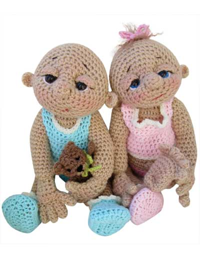 Crochet So Cute Baby Dolls Pattern
