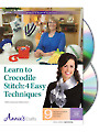 Learn to Crocodile Stitch Class DVD