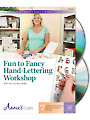 Fun to Fancy Hand-Lettering Workshop Class DVD