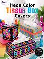Plastic Canvas Neon Color Tissue Box Covers