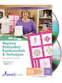 Machine Embroidery Fundamentals & Techniques Class DVD