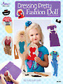Dressing Pretty Fashion Doll in Plastic Canvas